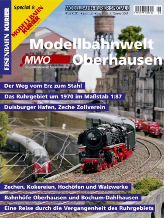 Modellbahn-Kurier Special 8: MWO Modellbahnwelt Oberhausen