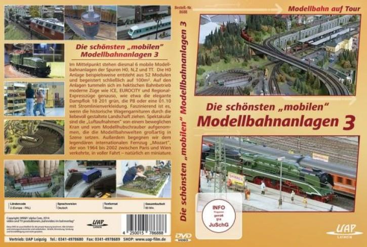 DVD: Die schönsten mobilen Modellbahnanlagen 3