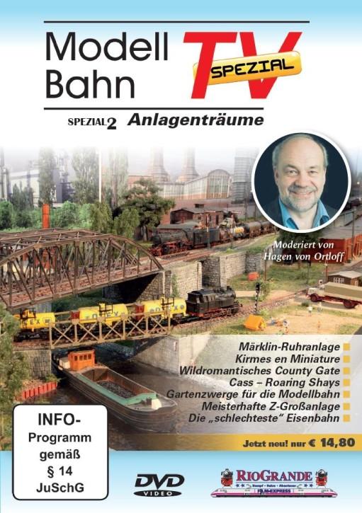 DVD: Modellbahn TV - Spezial 2. Modellbahn-Zauber