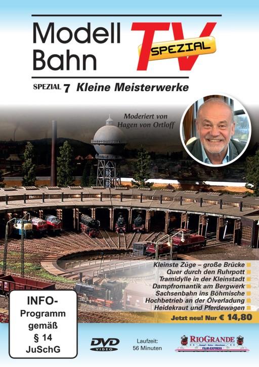 DVD: ModellbahnTV Spezial 7. Kleine Meisterwerke