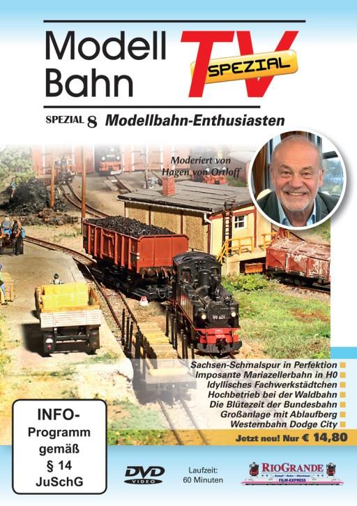 DVD: ModellbahnTV Spezial 8. Modellbahn-Enthusiasten