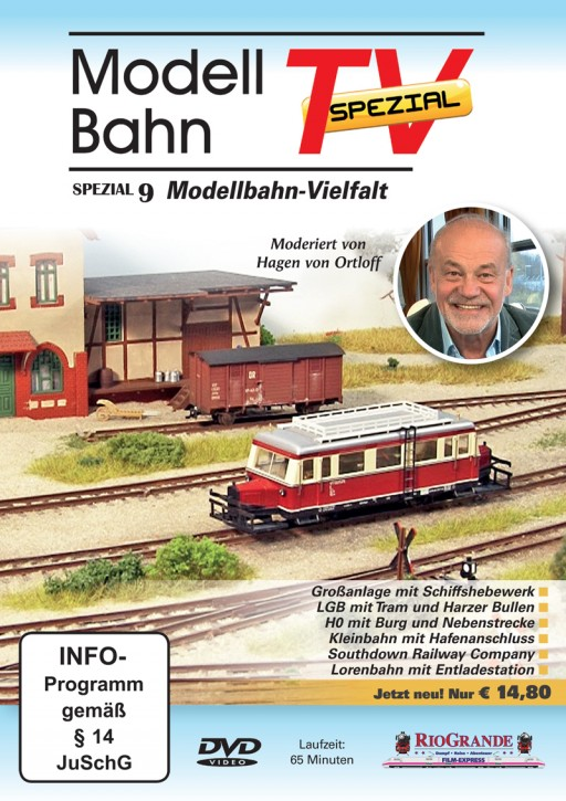 DVD: ModellbahnTV Spezial 9. Modellbahn-Vielfalt