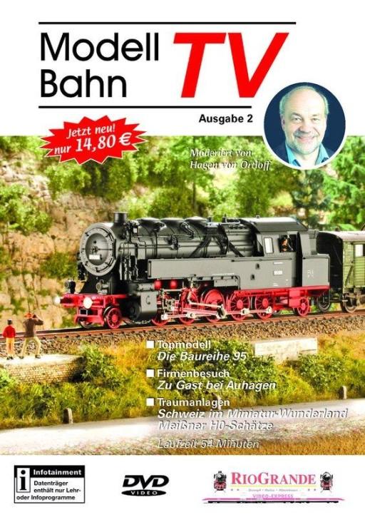 DVD: Modellbahn TV - Ausgabe 2