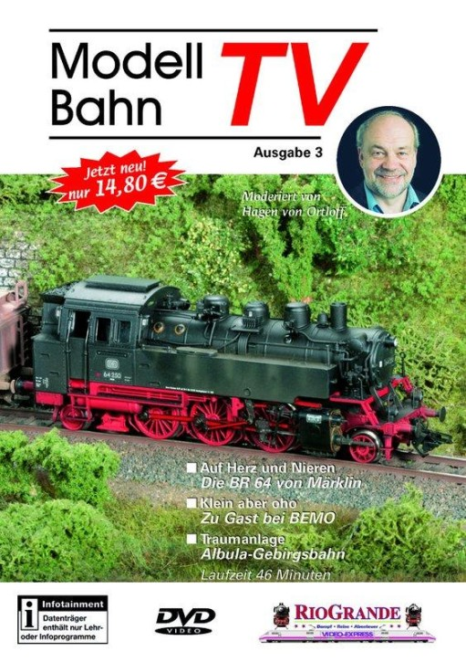DVD: Modellbahn TV - Ausgabe 3