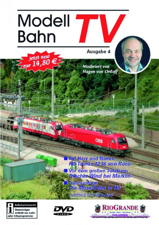 DVD: Modellbahn TV - Ausgabe 4