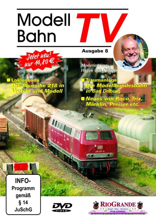 DVD: Modellbahn TV - Ausgabe 8