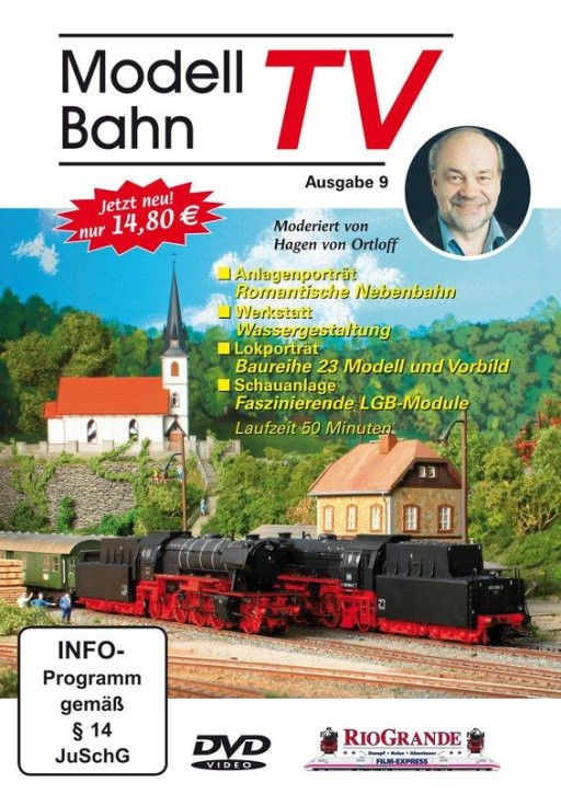 DVD: Modellbahn TV - Ausgabe 9