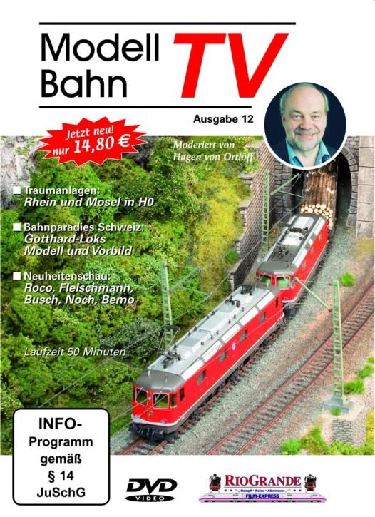 DVD: Modellbahn TV - Ausgabe 12