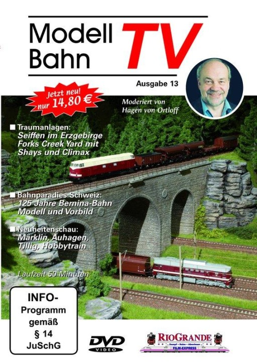 DVD: Modellbahn TV - Ausgabe 13