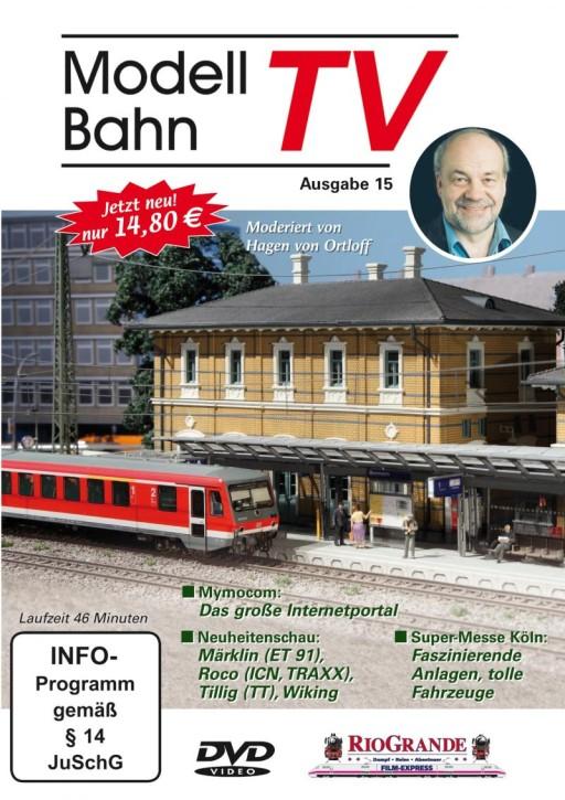 DVD: Modellbahn TV - Ausgabe 15