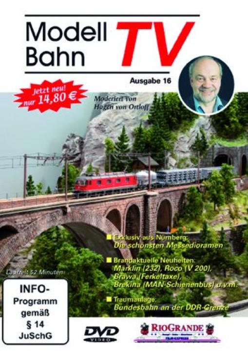 DVD: Modellbahn TV - Ausgabe 16