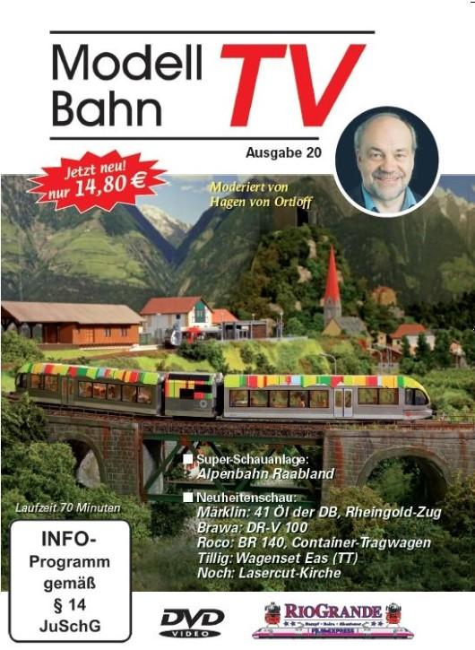 DVD: Modellbahn TV - Ausgabe 20