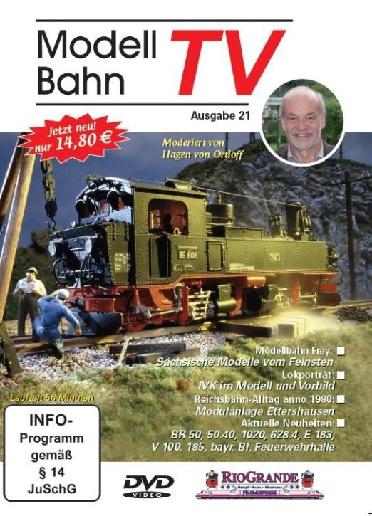 DVD: Modellbahn TV - Ausgabe 21