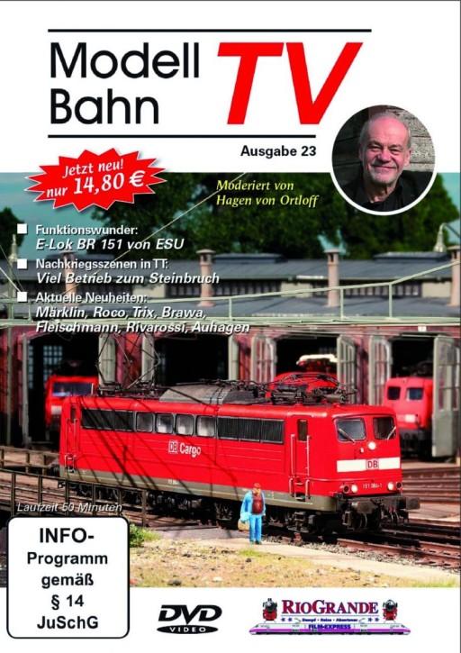 DVD: Modellbahn TV - Ausgabe 23