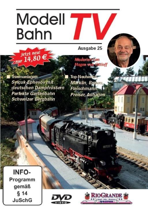 DVD: Modellbahn TV - Ausgabe 25