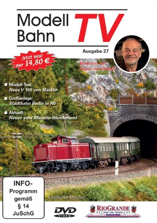 DVD: Modellbahn TV - Ausgabe 27