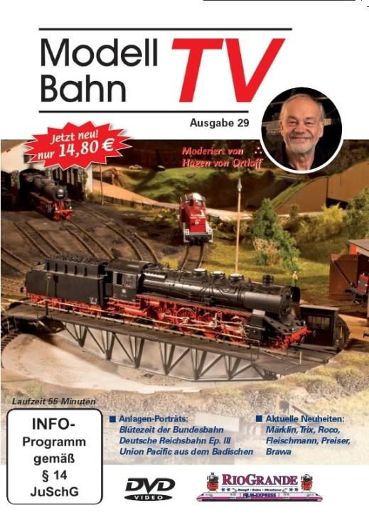 DVD: Modellbahn TV - Ausgabe 29