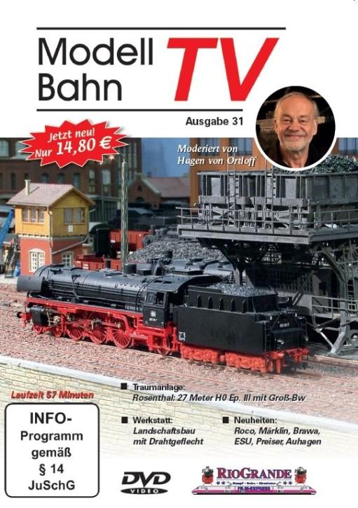 DVD: Modellbahn TV - Ausgabe 31