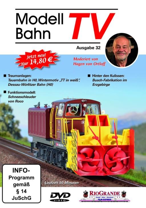 DVD: Modellbahn TV Ausgabe 32 + ModellBahnTV-Magazin