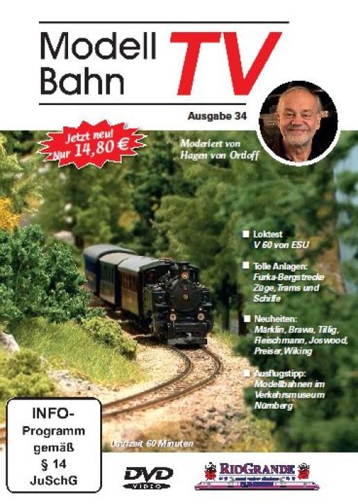 DVD: Modellbahn TV - Ausgabe 34
