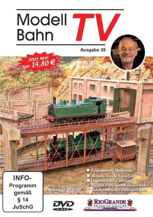DVD: Modellbahn TV - Ausgabe 39