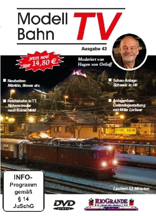 DVD: Modellbahn TV - Ausgabe 43