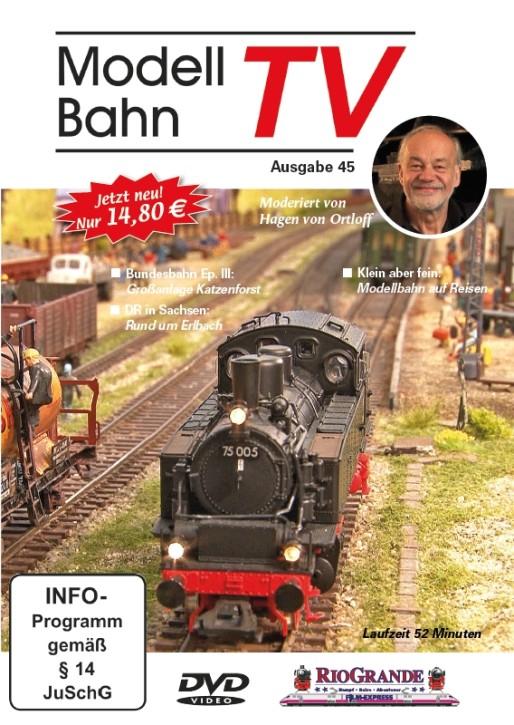 DVD: Modellbahn TV - Ausgabe 45