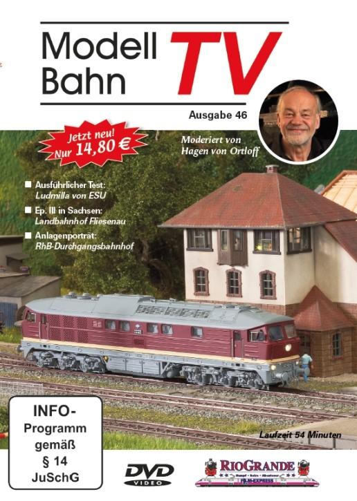 DVD: Modellbahn TV - Ausgabe 46