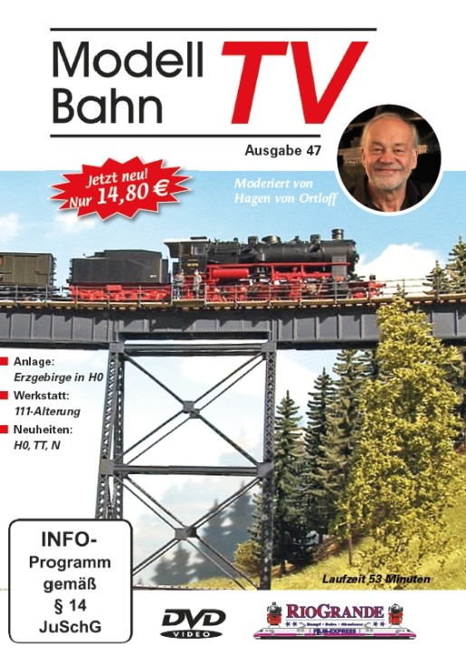 DVD: Modellbahn TV - Ausgabe 47