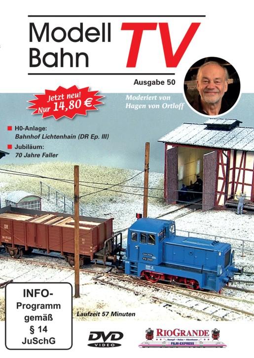DVD: ModellbahnTV Ausgabe 50