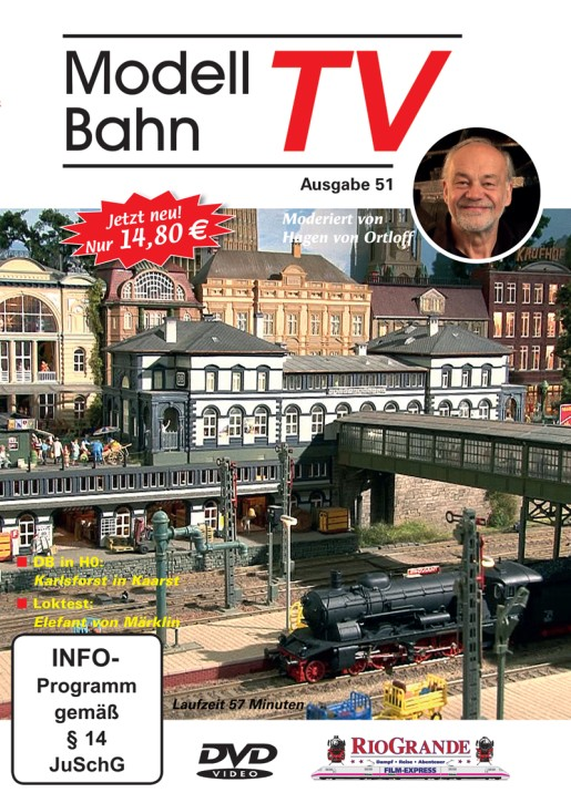 DVD: ModellbahnTV Ausgabe 51