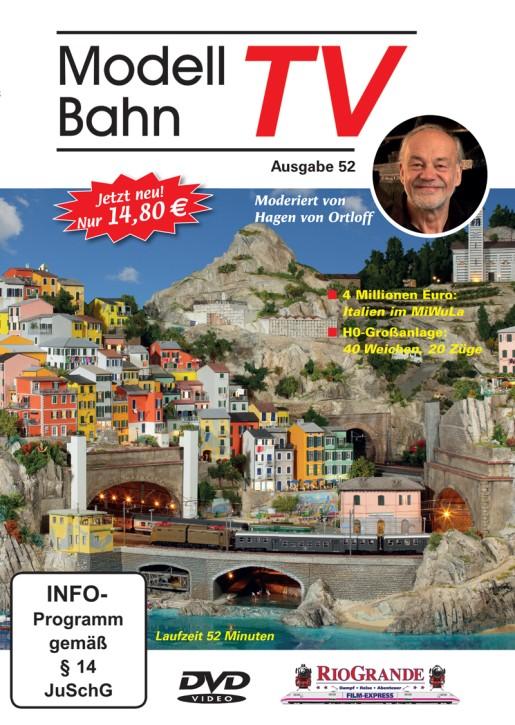 DVD: ModellbahnTV Ausgabe 52