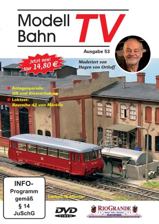 DVD: ModellbahnTV Ausgabe 53