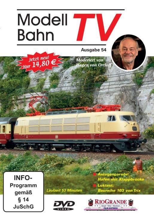 DVD: ModellbahnTV Ausgabe 54