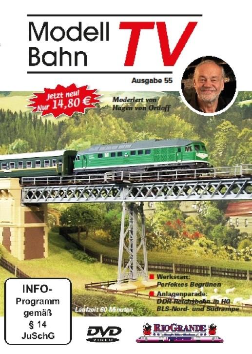 DVD: ModellbahnTV Ausgabe 55