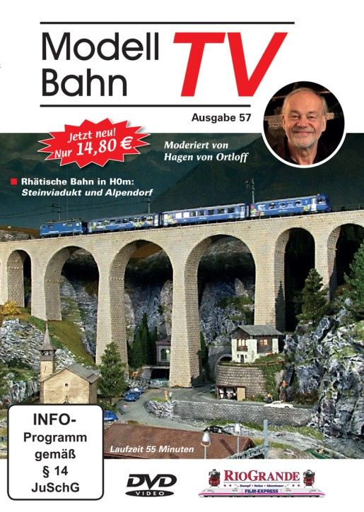 DVD: ModellbahnTV Ausgabe 57