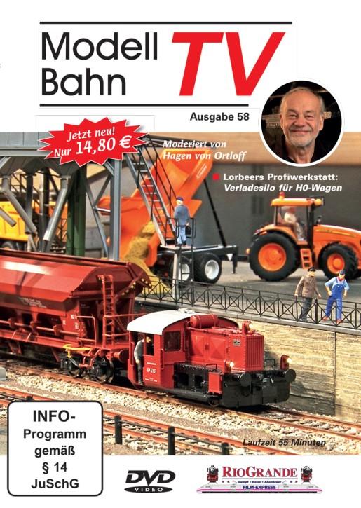 DVD: ModellbahnTV Ausgabe 58