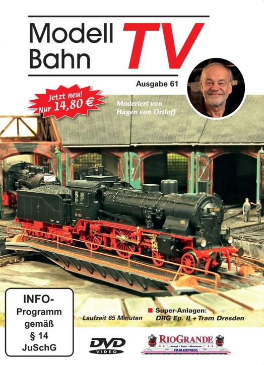 DVD: ModellbahnTV Ausgabe 61