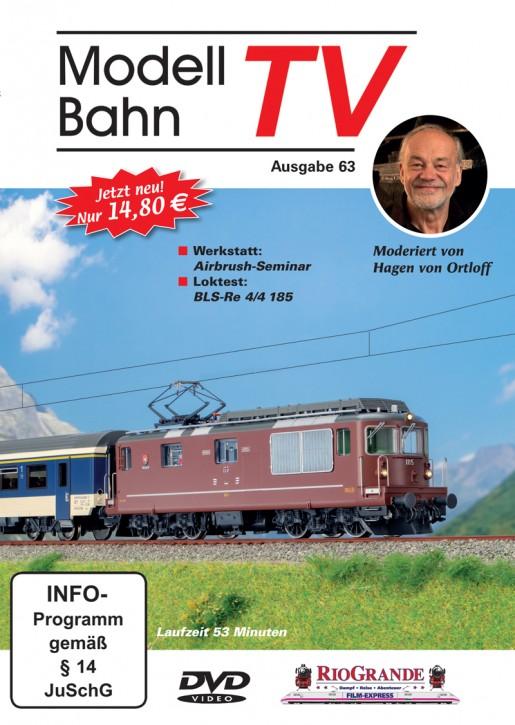 DVD: ModellbahnTV Ausgabe 63