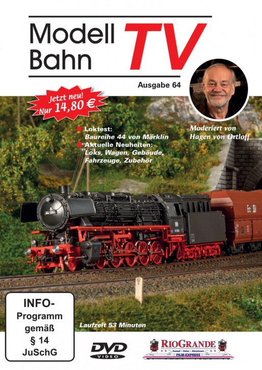 DVD: ModellbahnTV Ausgabe 64