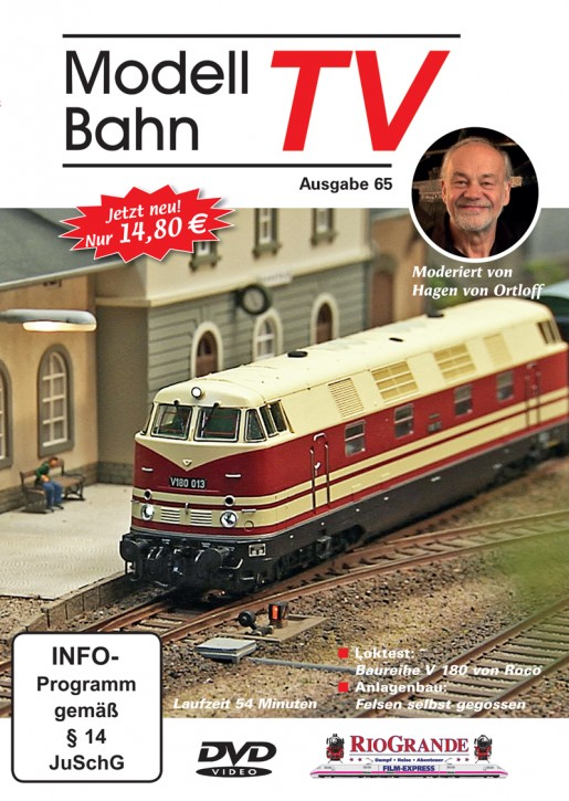 DVD: ModellbahnTV Ausgabe 65