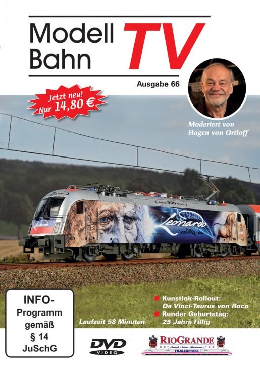 DVD: ModellbahnTV Ausgabe 66
