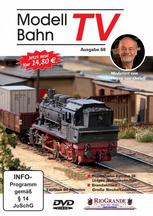 DVD: ModellbahnTV Ausgabe 68
