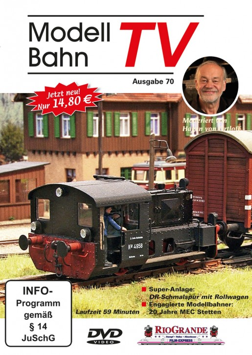 DVD: ModellbahnTV Ausgabe 70