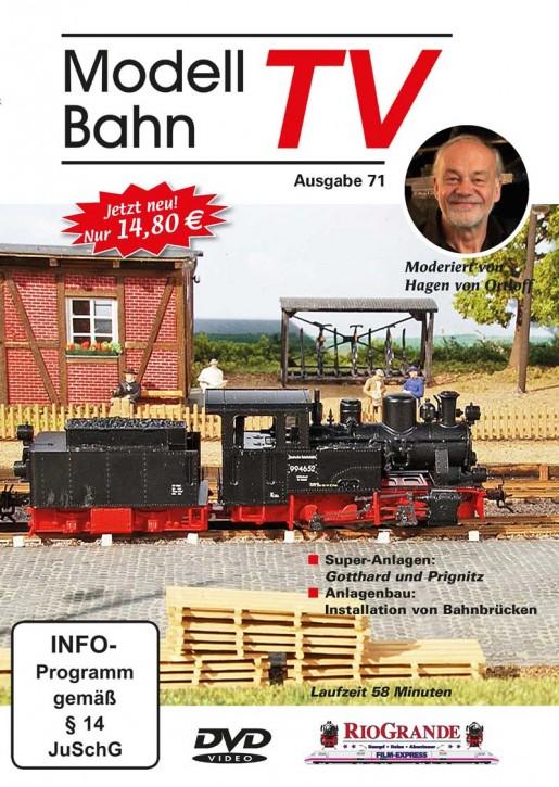 DVD: ModellbahnTV Ausgabe 71