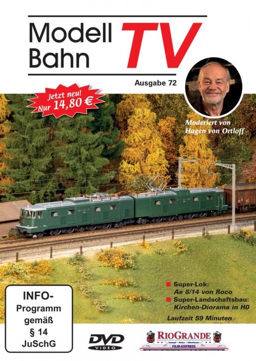 DVD: ModellbahnTV Ausgabe 72