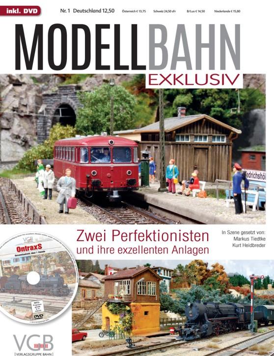 Modellbahn Exklusiv Heft 1: Zwei Perfektionisten und ihre exzellenten Anlagen