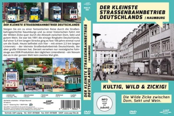DVD: Der kleinste Straßenbahnbetrieb Deutschlands - Kurz, Wild, Zickig! Die Wilde Zicke zwischen Dom, Sekt und Wein