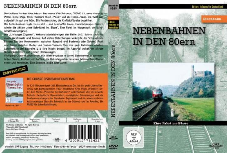 DVD: Die Nebenbahnen in den 80ern. Eine Fahrt ins Blaue