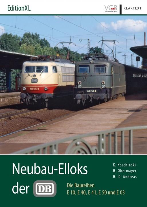 Neubau-Elloks der DB. Die Baureihen E 10, E 40, E 41, E 50 und E 03